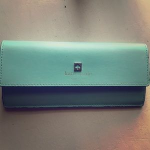 Blue Kate Spade Wallet- excellent condition